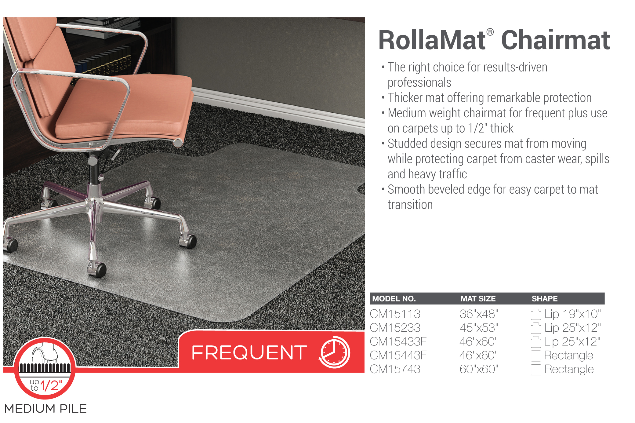 deflect o chairmats re business solutions