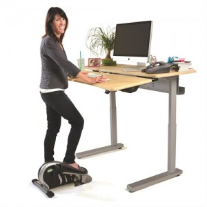 Ergotron WorkFit and Elevate