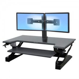Ergotron Workfit T-TL workstation